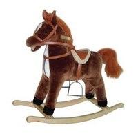 Лошадка-качалка (коричневая), Shantou Gepai