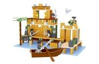 """Конструктор """"пираты"""" (332 детали), AUSINI"""