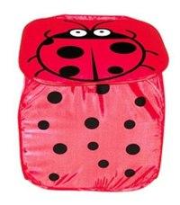 """Корзина для игрушек """"божья коровка"""", 45х45 см, Shantou Gepai"""