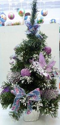 Ель искусственная, 41 см, Новогодняя сказка