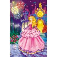 """Пазл """"волшебный мир. прекрасная принцесса"""", 160 элементов, Канц-Эксмо (Listoff, Unnika Land)"""