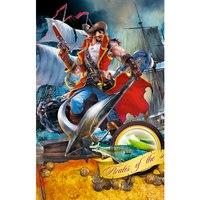 """Пазл """"волшебный мир. отважный пират"""", 160 элементов, Канц-Эксмо (Listoff, Unnika Land)"""