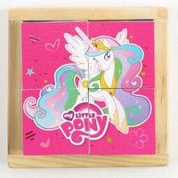"Набор кубиков ""my little pony"", 4 штуки, Играем вместе"