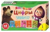 """Развивающая игра """"цифры. """", Маша и Медведь"""