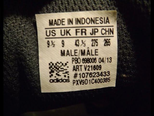 Как отличить подделку и копию от оригинала (Adidas,Reebok, Salomon)