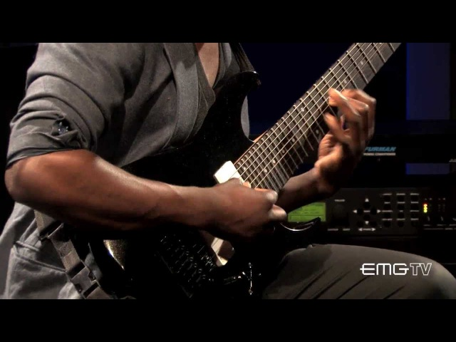 Tosin Abasi of Animals As Leaders performs, Song of Solomon on EMGtv