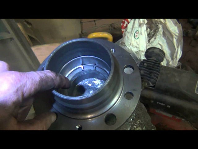 Уаз Патриот-16-серия Модернизация ступицы УАЗ 1-часть