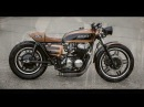 Gritty 750 Honda CB750 Cafe Racer walk around and build 72 CB 750