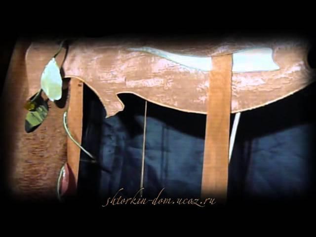Необычное крепление ламбрекена на карниз