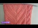 Ажурный узор и Косичка Вязание на спицах 226
