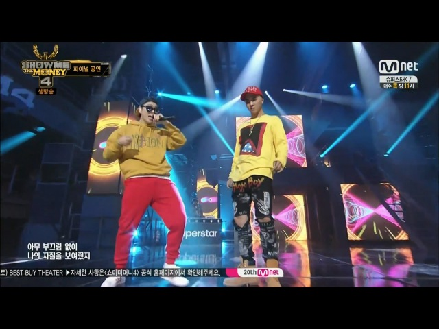 SONG MINHO - OKEY DOKEY (with ZICO) 0828 Mnet SHOW ME THE MONEY 4