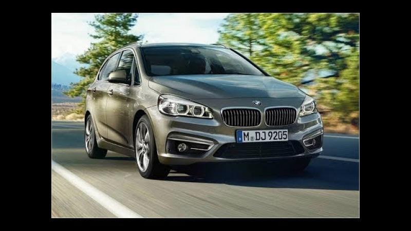 2015 BMW 2 Series Active Tourer - новый компактвэн Актив Турер 2 серии БМВ
