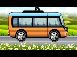 Cartoon about cars. TROLLEYBUS. Car Wash Salon Truck. Мультики про Машинки. ТРОЛЛЕЙБУС.