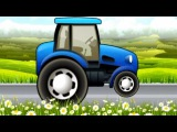 Cartoon about cars. TRACTOR. Car Wash Salon Truck. Мультики про Машинки. ТРАКТОР.
