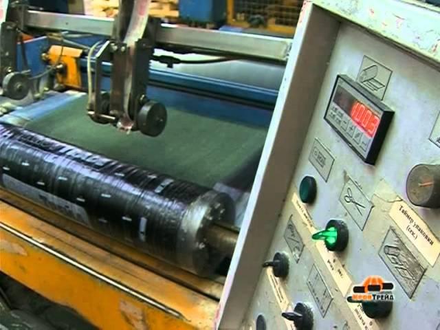 Технологический процесс производства битумно-полимерных материалов