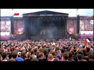 Slayer - Live Sonisphere Festival,UK 2011