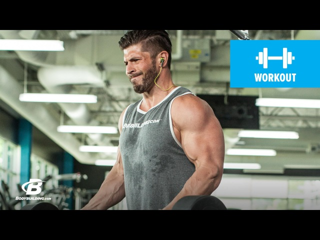 Arm Building Superset Workout Brian Casad