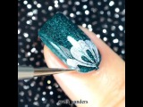 """Nails Art Clips on Instagram: """"Gorgeous marble by @Sveta_Sanders💜 Song:"""