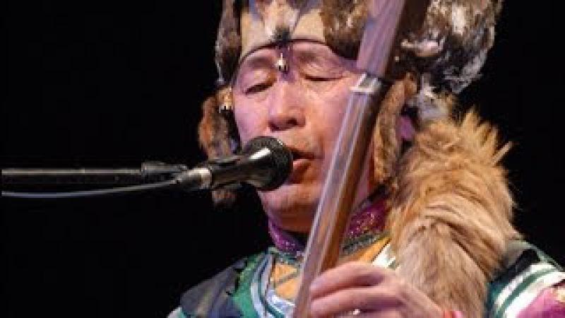 Nikolay Oorzhak. Master of Mongolian throat singing, shaman from Tyva.
