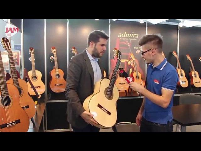 Классические гитары Admira (Испания) на выставке Musik MESSE 2015