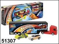 """Набор игровой """"turbo гоночный трейлер"""", Autotime"""