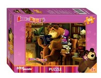 "Пазл ""маша и медведь"", 104 элемента, Step Puzzle (Степ Пазл)"