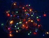 Гирлянда электрическая 180 микроламп (цветное свечение), Новогодняя сказка