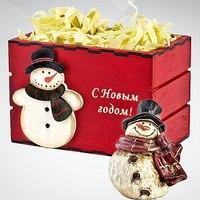 "Статуэтка новогодняя ""снеговик"", Mister Christmas"