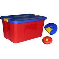 """Ящик для игрушек """"секрет"""", красный, М-Пластика"""