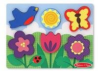 "Пазл ""мои первые пазлы. цветущий сад"", Melissa & Doug"