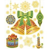 """Новогоднее оконное украшение """"елочное украшение"""", Феникс Present"""