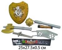 """Набор оружия """"рыцарь"""", щит, Shantou Gepai"""