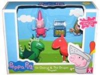 """Игровой набор peppa pig """"джордж и дракон"""", Intertoy"""