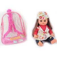 """Кукла """"соня в шапочке"""" в рюкзачке, Play Smart (Joy Toy)"""
