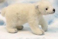 """Мягкая игрушка """"белый медвежонок"""", Hansa (Ханса)"""