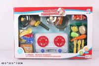 "Набор ""веселый поваренок"" (посуда, плитка, овощи), Play Smart (Joy Toy)"