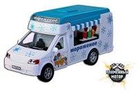"""Машина металлическая инерционная """"фургон. мороженое"""", 1:43, Пламенный мотор"""