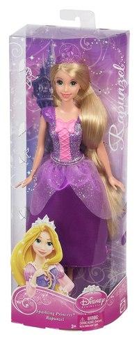 """Кукла """"disney принцесса - рапунцель в сверкающем наряде"""", Mattel (Маттел)"""