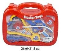 Набор доктора в пластиковом чемоданчике (13 предметов), Shantou Gepai