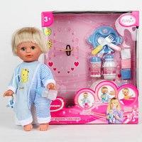 Кукла с горшком и аксессуарами, 28 см, Карапуз (товары для детей и игрушки)