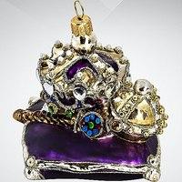 """Украшение коллекционное """"символы власти"""", фиолетовое, Silverado"""