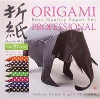 """Набор бумаги для оригами """"точки и полосы"""", 7 листов, Альт"""