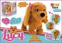 "Собака интерактивная ""lucy"", с батарейками, IMC toys"