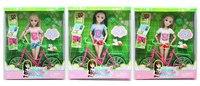 """Кукла """"abbie"""" с велосипедом, Big Orange"""
