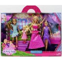 """Набор """"сёстры барби в сказке о пони"""" - куклы в нарядных платьях, Mattel (Маттел)"""