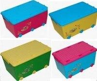 """Ящик для игрушек """"веселая черепаха"""", TEGA"""