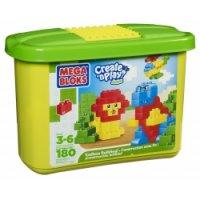 Мини ведерко с конструктором (180 кубиков), Mega Brands (Mega Bloks)