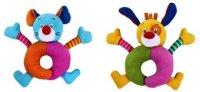 """Развивающая игрушка-погремушка """"забавные зверята"""", в ассортименте, Жирафики"""