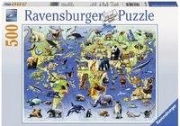 """Пазл """"животные из красной книги"""" (500 деталей), Ravensburger"""
