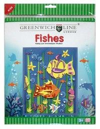 """Набор для аппликации из пены """"рыбки"""", Greenwich Line"""